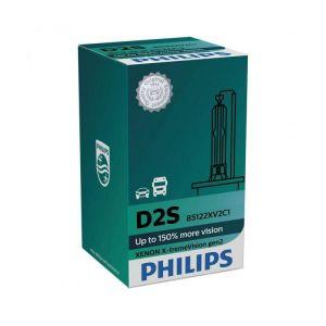 Philips D2S X-treme Vision GEN2 ксенонова крушка 150 % повече светлина