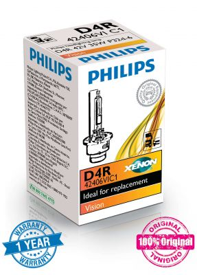 Philips D4R Xenon Vision ксенонова крушка XenEco 42406