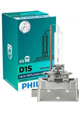 Philips D1S X-treme Vision Gen2 ксенонова крушка (150 % повече светлина!)
